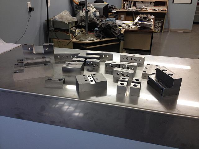 Parts made with Haas